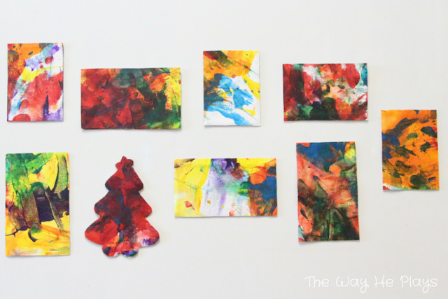FInger painted magnets