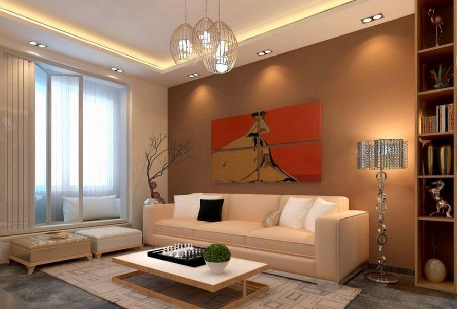 60 Desain Lampu Hias Ruang Tamu Minimalis Desainrumahnya Com