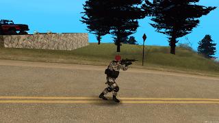 Novas animações armas mta