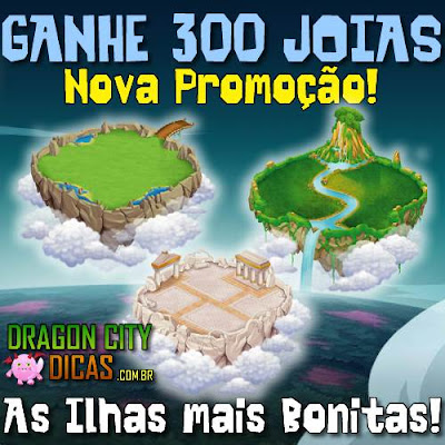 As Ilhas mais Bonitas de Setembro - Ganhe 300 Joias!