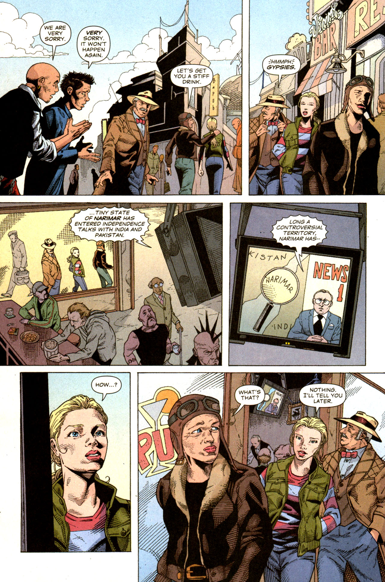 Read online Air comic -  Issue #6 - 3