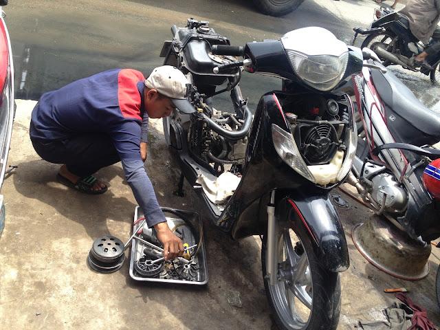 Sửa xe Honda Sh chuyên nghiệp tại Tphcm