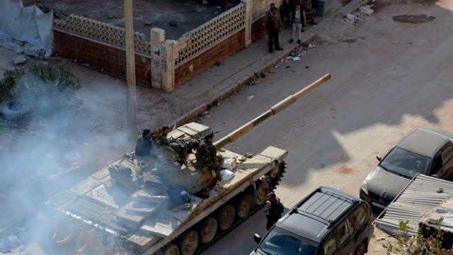 Οι συριακές δυνάμεις προωθούνται κατά το τελευταίο 24ωρο κατά του Ισλαμικού Κράτους