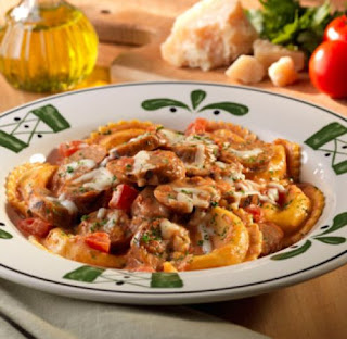 Olive Garden Copycat Recipes Stuffed Mezzaluna Pastas