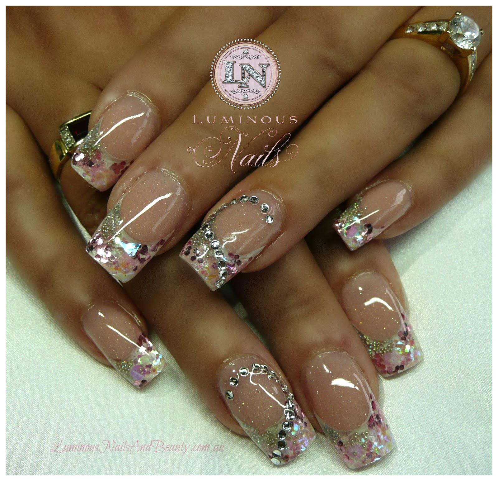 dark colored nail designs