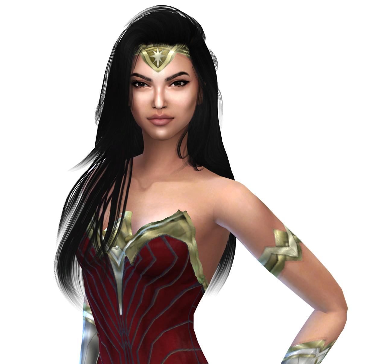 Moon Galaxy Sims: The Sims 4 Wonder Woman