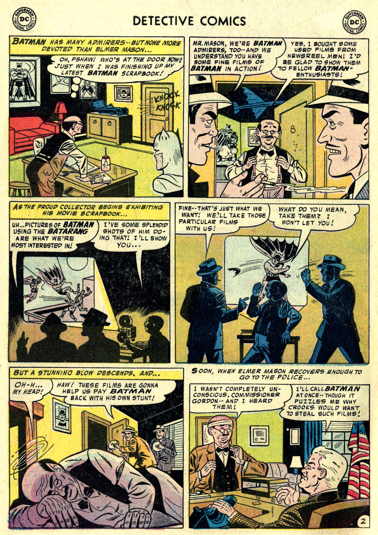 Detective Comics (1937) 244 Page 3