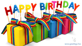 Happy birthday Wishes with Gift Box images HD