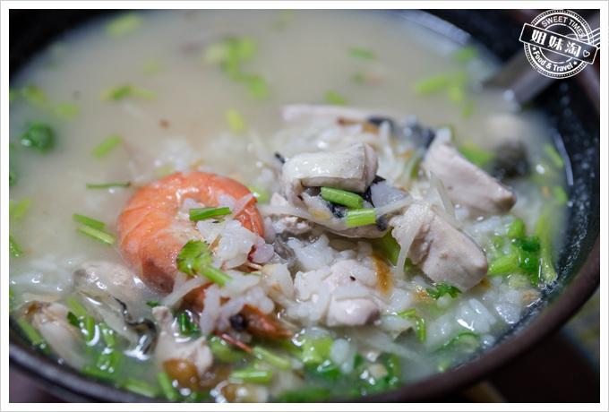台東七股鹹粥-湯鮮味美的好味道