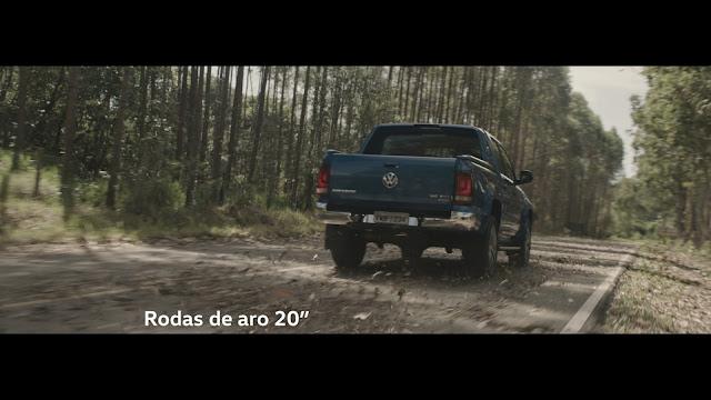 VW lança comercial da Amarok V6 Extreme - vídeo