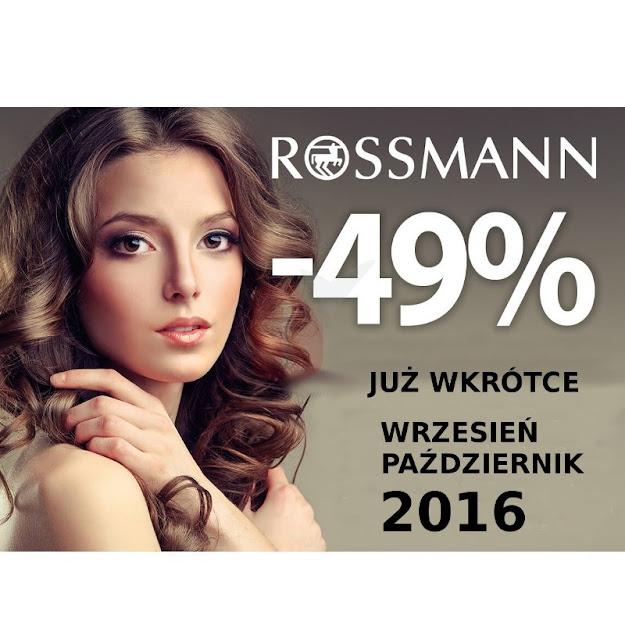 12.10.2016 do 17.10.2016 -49% Podkłady, pudry, róże, bronzery, korektory do twarzy.