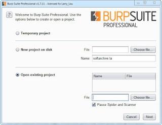 Burp Suite Professional 1.7.37 Full Version