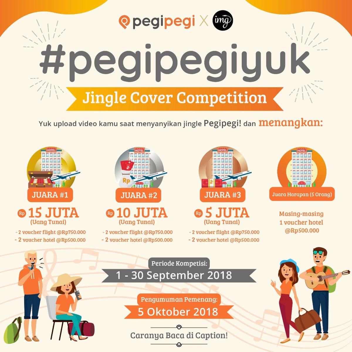 PegiPegi - Promo Kontes Jingle Cover Competition (s.d 30 Sept 2018)