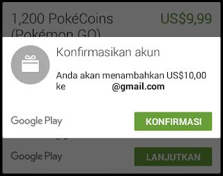 Cara Mendapatkan 1200 Coin Gratis Pokémon GO,  How to get free Pokécoins (Gold Coins)