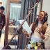 (Photos)Tiwa Savage hit the studio with Rihanna's producer, Stargate