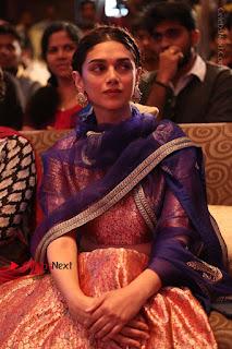 Aditi Rao Hydari Stills in Lehenga Choli at Cheliyaa Telugu Movie Audio Launch Event  0043.JPG