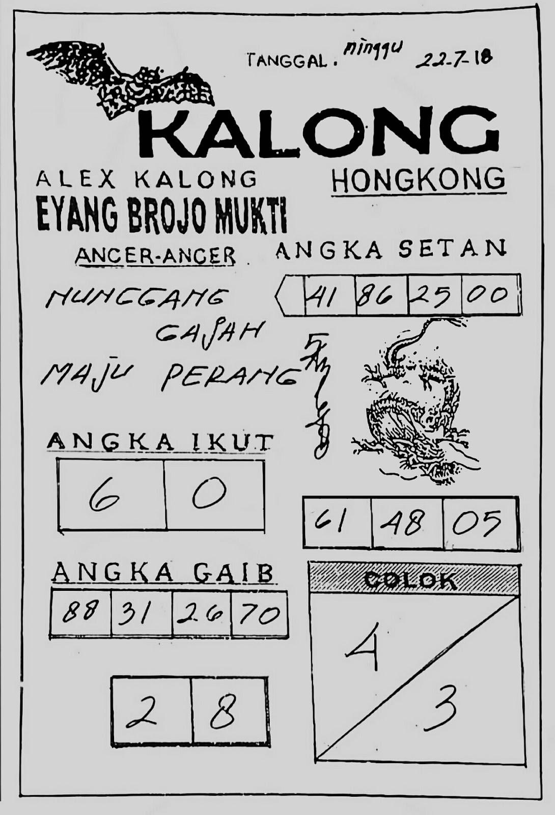PREDIKSI SYAIR TOGEL HONGKONG 22 JULI 2018 ~ Live Draw Togel SGP dan