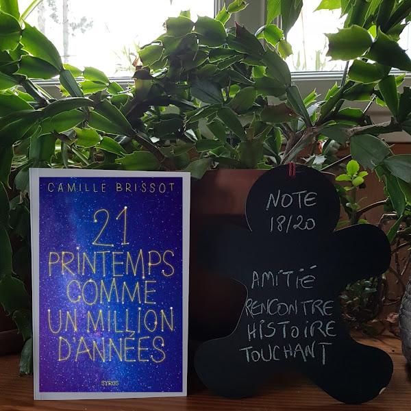 21 printemps comme un million d'années de Camille Brissot