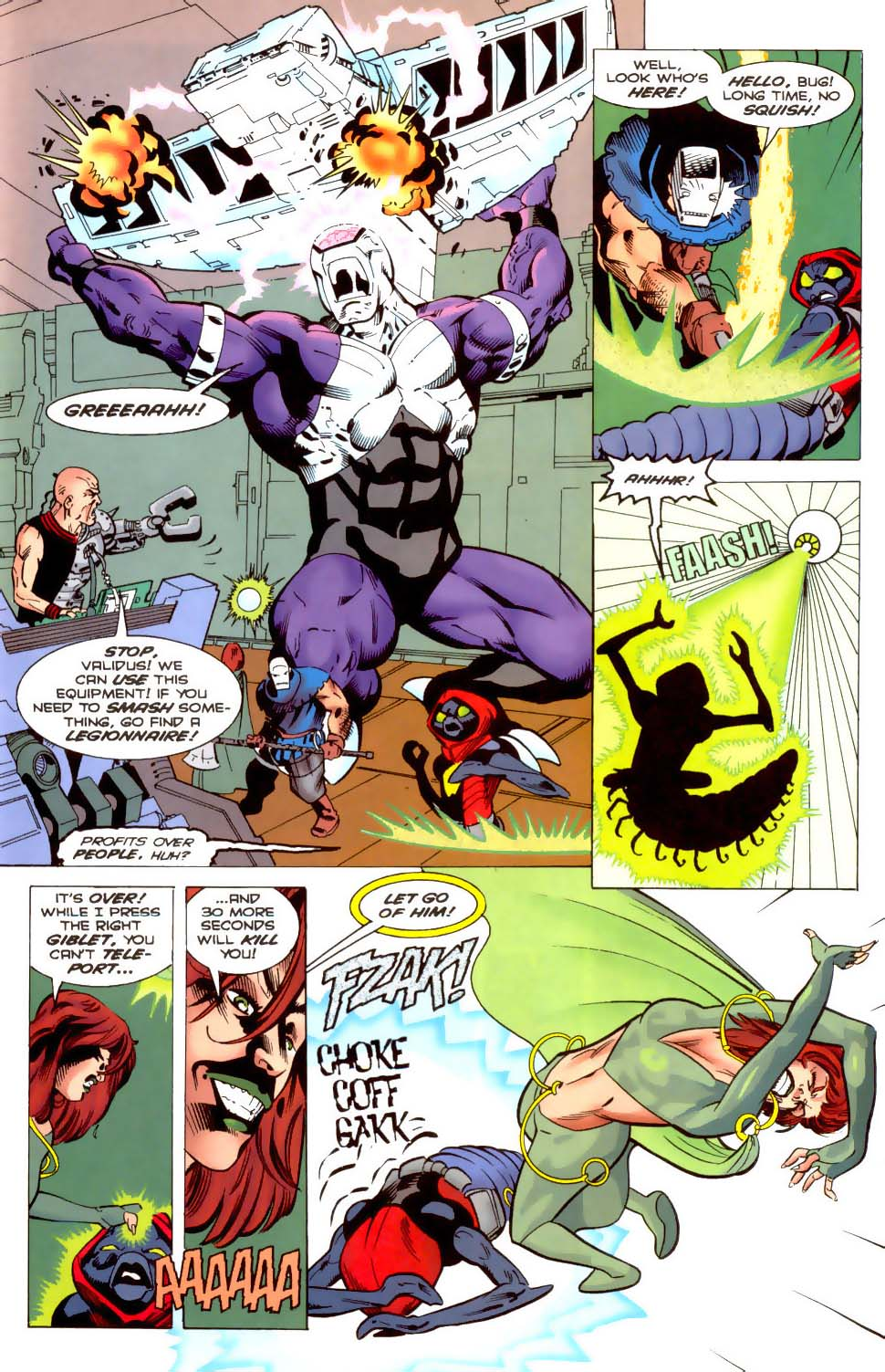 Legion of Super-Heroes (1989) 120 Page 15