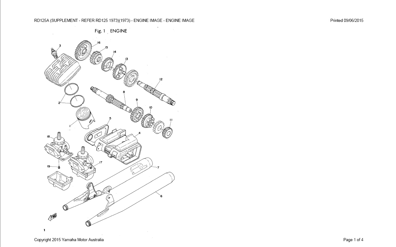 medium resolution of 1971 yamaha engine diagram