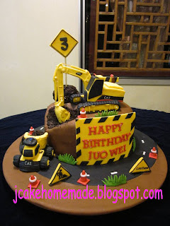 Jcakehomemade Construction Cake