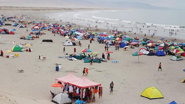 Playa las totoritas chicnha alta ica peru turismo chincha