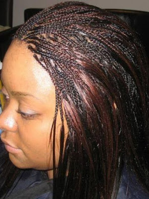 If you are searching for a new African braided style for your natural hair ✘ 39+ Latest Layered Micro Braids Styles 2020 With Micro Twists