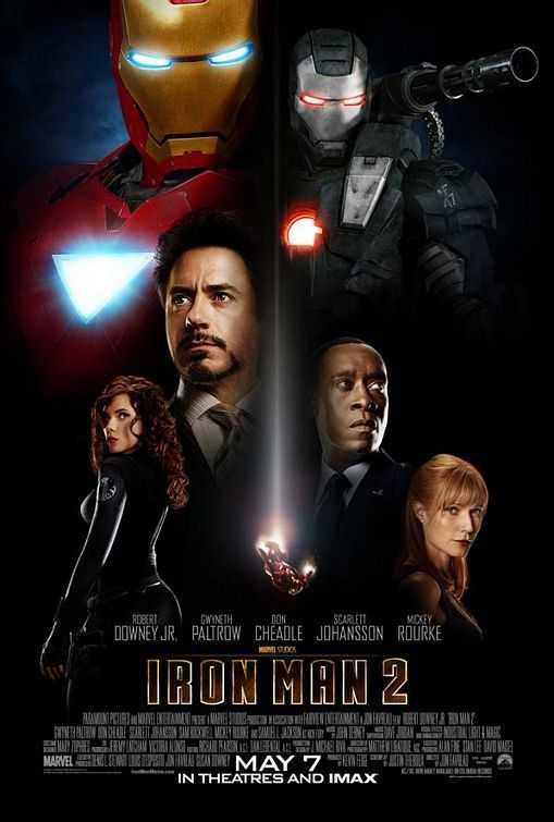 Poster Iron Man 2 2010 Dual Audio HD 720p