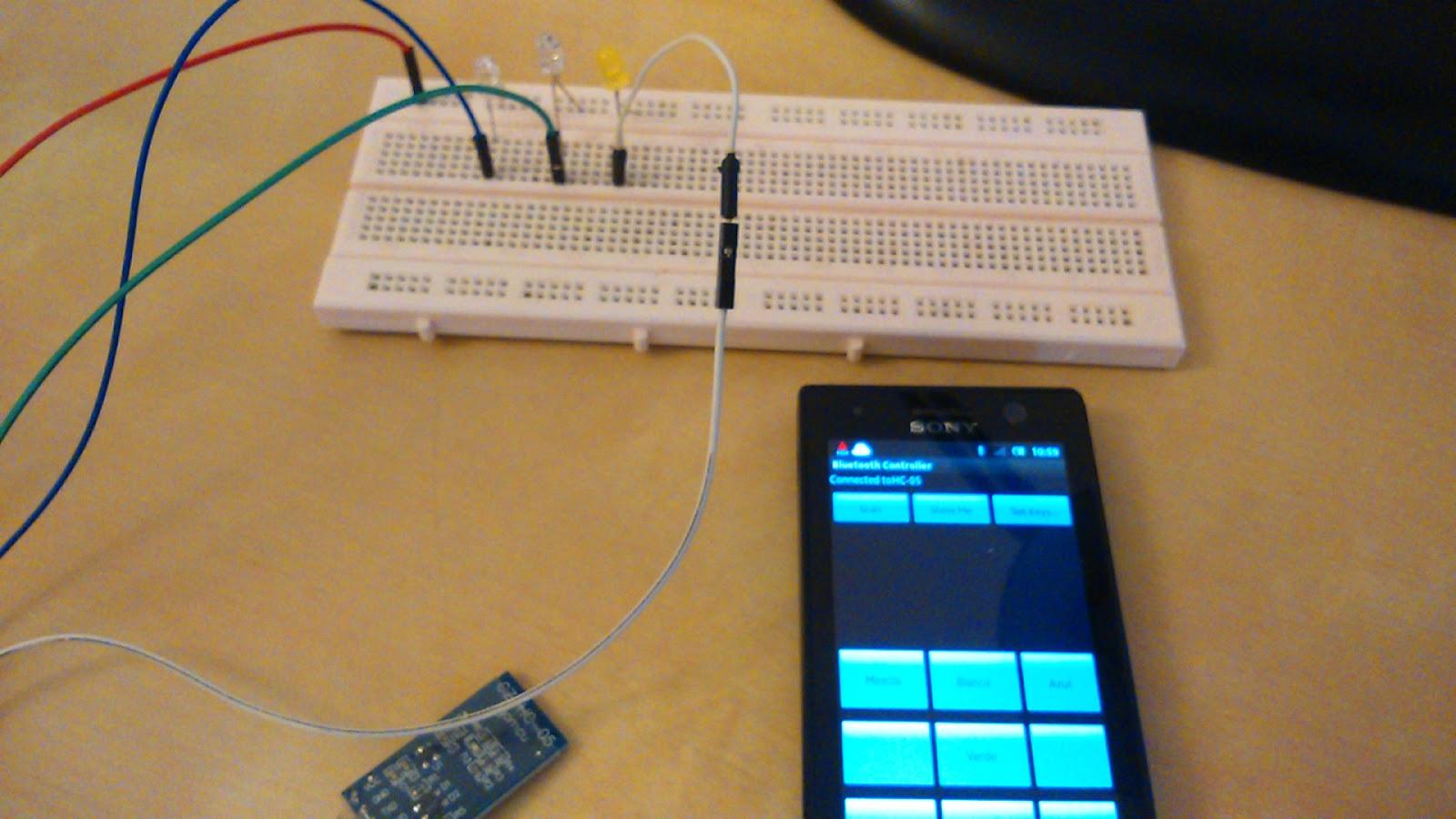 Bluetooth con Picaxe