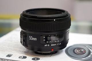 Objetivo Yongnuo 50 mm F1.8 Nikon