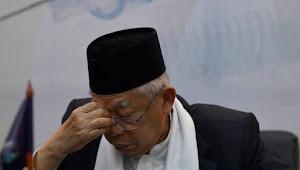 Elektabilitas Terus Nyungsep, Ma'ruf Amin Sakit pun Disuruh Blusukan