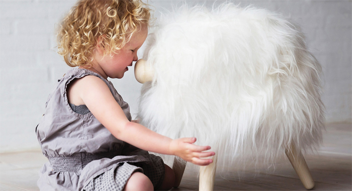 Sheep wool Toy for kids