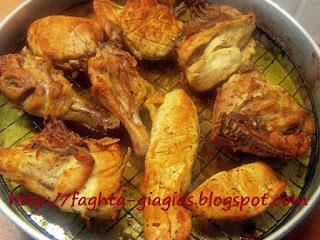 Κοτόπουλο ψητό στη σχάρα μαριναρισμένο - από «Τα φαγητά της γιαγιάς»