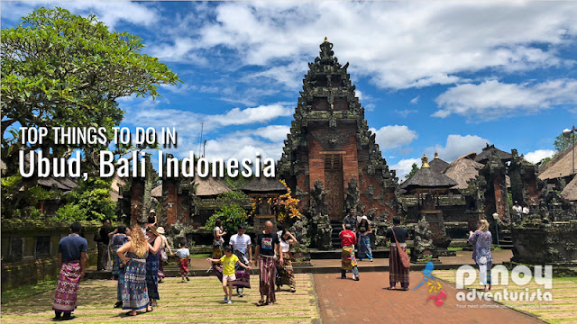 Top Things to do in Ubud Bali Indonesia tourist spots