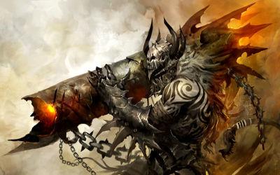Guild Wars 2 Demon Cannon - Fond d'écran en Full HD 1080p