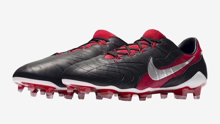 check out 37df4 b3086 Black / Red & Black / Silver Nike iD Hypervenom GX Boot ...