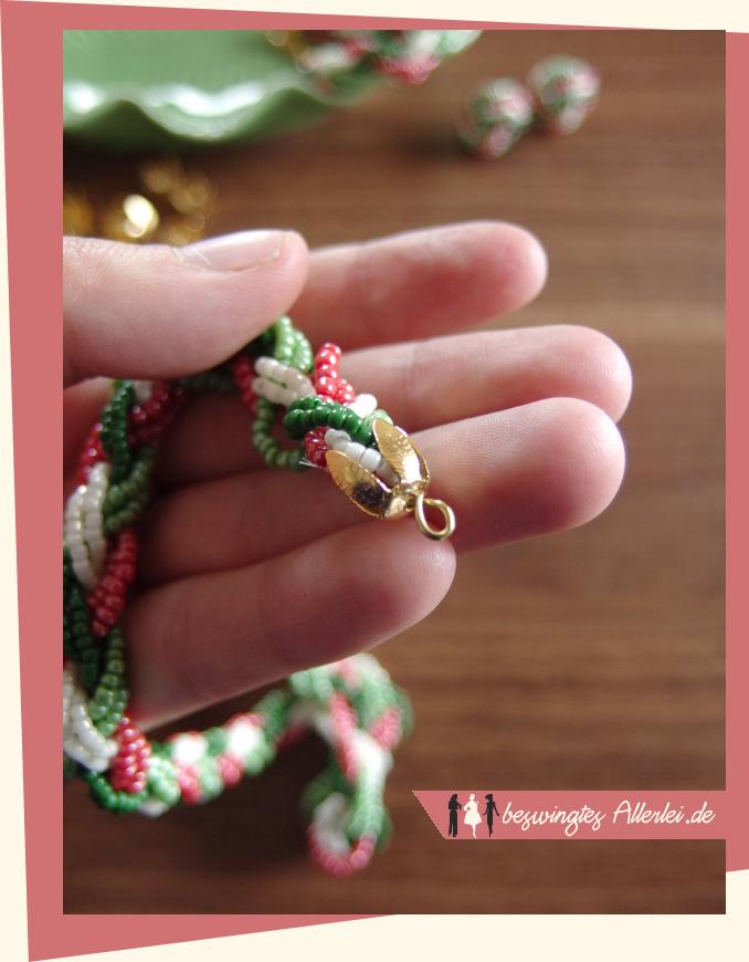 Schmuck selbst machen: Geflochtene Halskette oder Armband | Beswingtes Allerlei