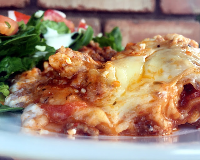 The Easiest Homemade Lasagna