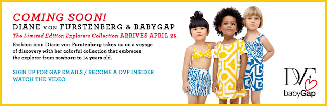 What Kinsey Wore DVF & BabyGap