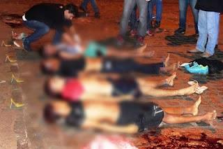 Em Pernambuco quatro usuários de drogas são executados e a mãe de um deles sofre infarto após saber da notícia