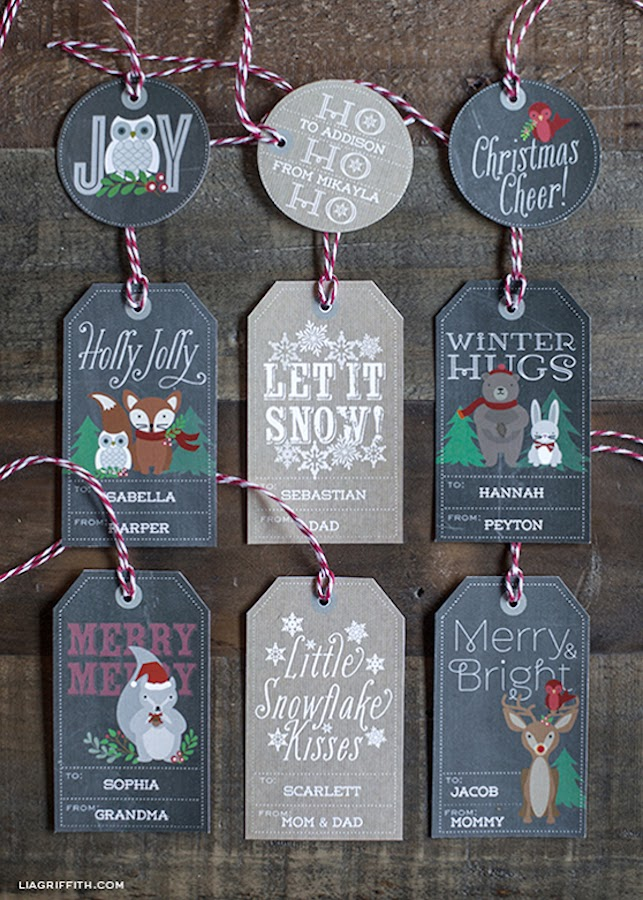 10 etiquetas regalos gratis imprimibles navidad