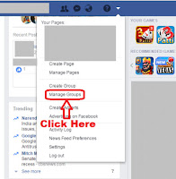 how to delete facebook group created by me