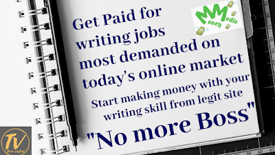 Online Writing Jobs - Work from Home