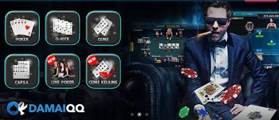 Poker dan domino99 Damaiqq