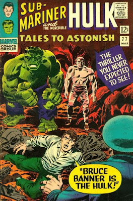 Tales to Astonish #77, the Hulk