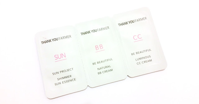 Thank You Farmer  Sun Essence, BB Cream, CC Cream