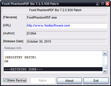 Serial number foxit phantompdf business versi 7
