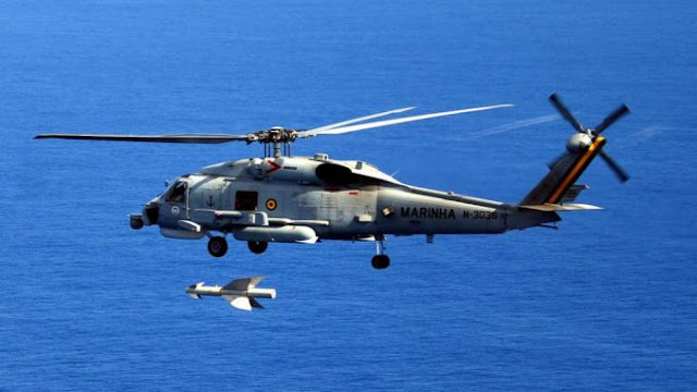 Image Attribute: Brazilian Navy's Sikorsky SH-16 Seahawk multi-role helicopter in flight.