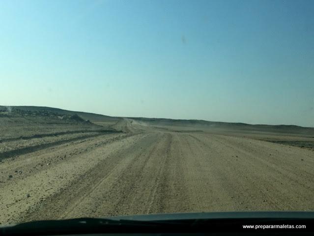 consejos sobre carreteras de Namiba