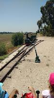מסילת רכבת קטר - עין שמר